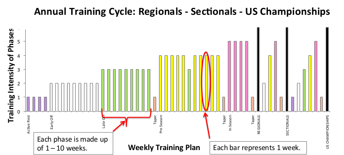 training phases